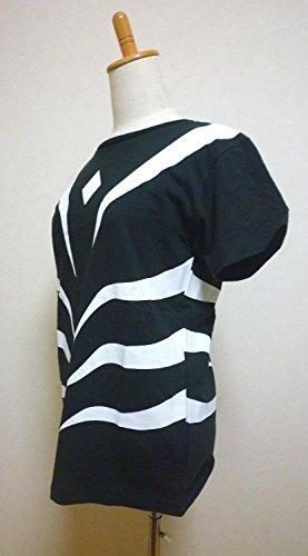 とある魔術の禁書目録 一方通行 アクセラレータ 半袖 Tシャツ (黒, Lサイズ)
