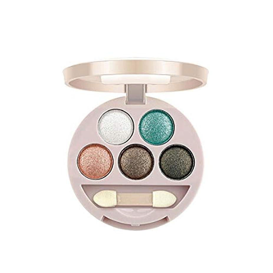 多様性専門化する革命的Symboat Eye Shadow アイシャドウパレット 5色 アイシャドーウェット&ドライアイシャドー 両用 落ちない 長持ち 可愛い 高発色 自然立体