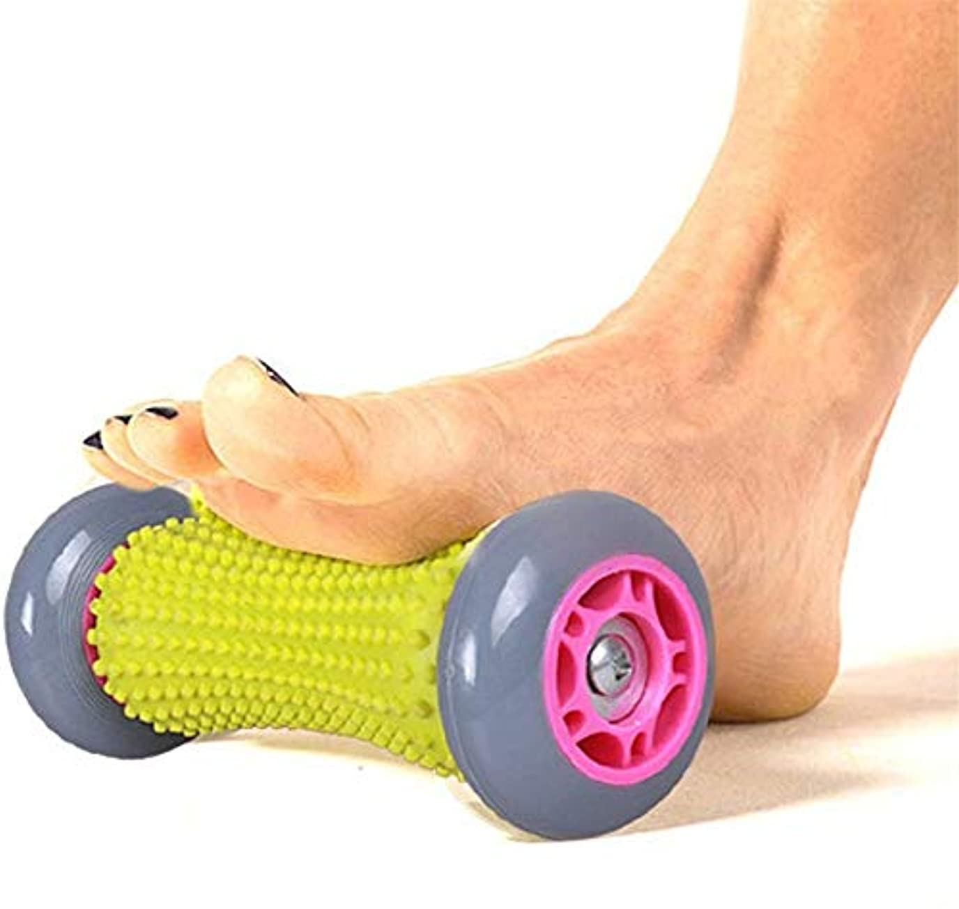 極端な刺激する効能あるフットマッサージローラー、足の上にタイトな筋肉、全体的にリラックス、ストレスリリーフとトリガーポイントセラピーのための足底筋膜炎のかかと足のアーチの痛みリフレクソロジーツールパーフェクトを和らげます