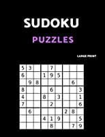 Sudoku Puzzles Large Print: 80 Easy  Sudoku Puzzle Book. One puzzle per page with room to work.