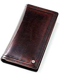 財布 メンズ 長財布 本革 レザー 大容量 小銭入れ 柔らかい 高級 ハンドメイド 職人が作る男性 財布 人気