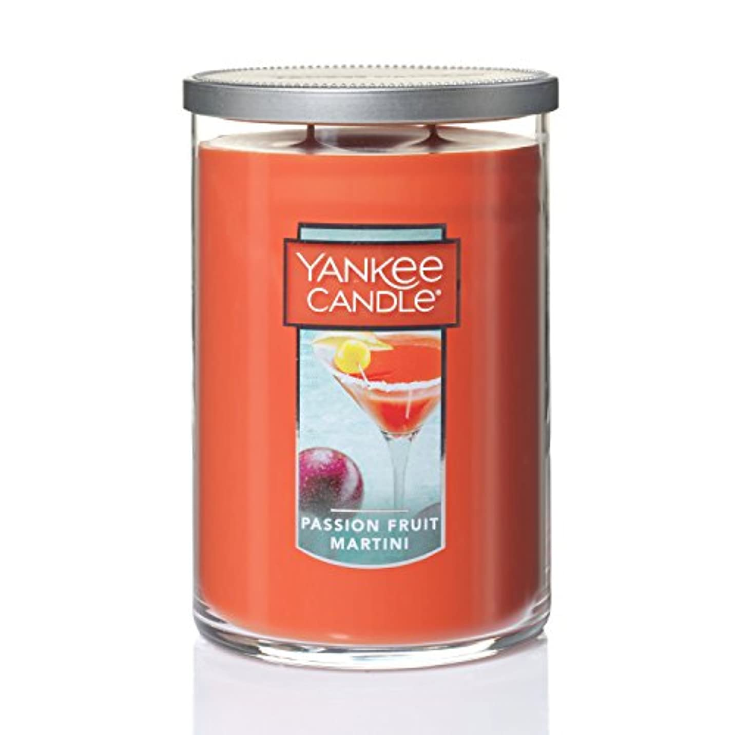 成長する淡い背景Yankee CandleパッションフルーツMartini Large 2-Wick Tumbler Candle 1352131-YC