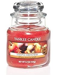 Yankee Candle 3.7oz Small Jar Happyクリスマス