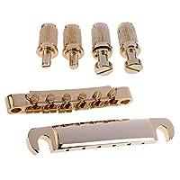 Dovewill  Tune-O-Matic ブリッジ レスポールエレクトリックギター対応 - ゴールド