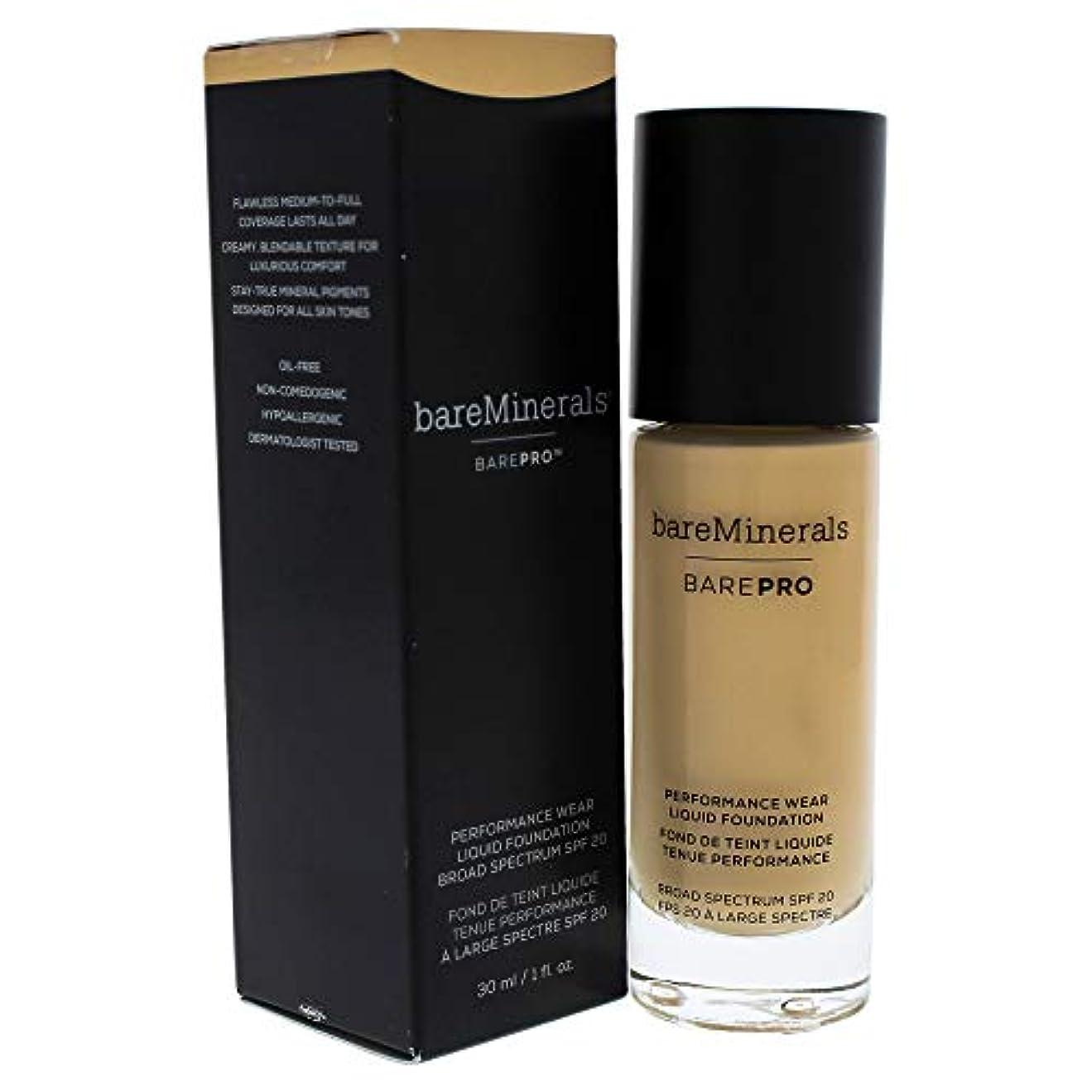 豊富に宗教的な月面ベアミネラル BarePro Performance Wear Liquid Foundation SPF20 - # 08 Golden Ivory 30ml/1oz並行輸入品