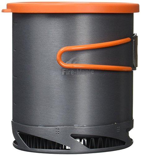 Fire-Maple(ファイア メイプル) ヒートエクスチェンジャー ポット1L 〔収納ポーチ付〕低燃費 【正規品】 FMC-XK6