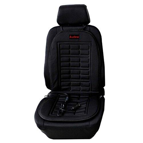 AUDEW 12V車用ホット シートヒーター 座面・腰面にヒ...
