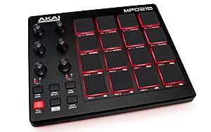 Akai Professional USB MIDIコントローラー 16パッド 音源ソフト付属 MPD218