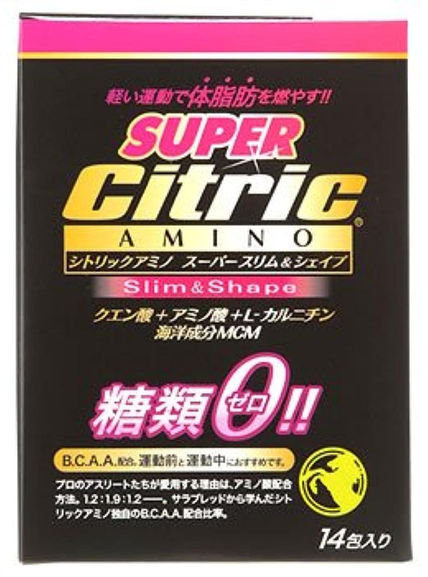 メダリスト?ジャパン シトリックアミノ スーパースリム&シェイプ JP (6g×14包入) クエン酸 アミノ酸 糖類ゼロ