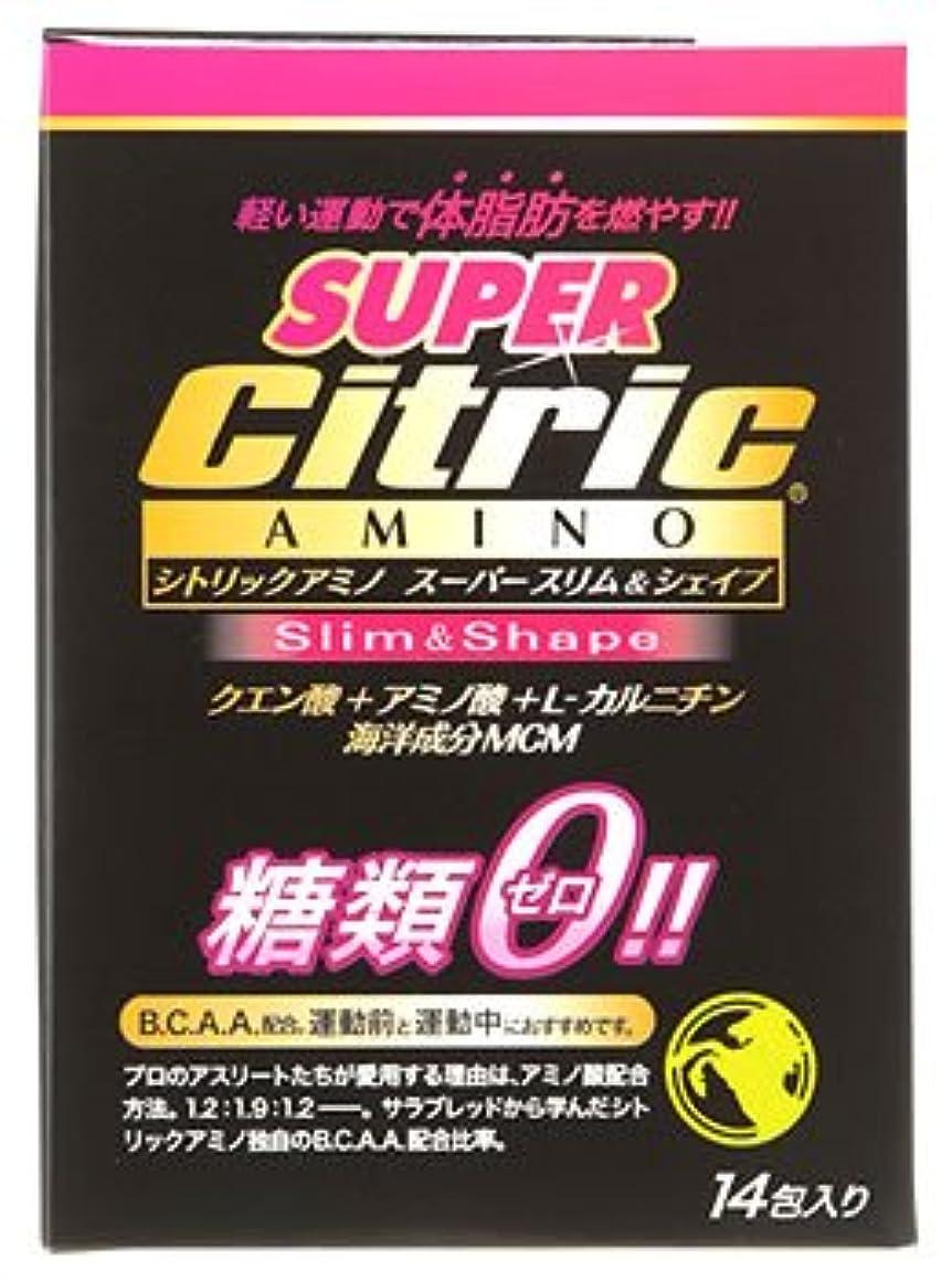 上すずめキャプチャーメダリスト?ジャパン シトリックアミノ スーパースリム&シェイプ JP (6g×14包入) クエン酸 アミノ酸 糖類ゼロ