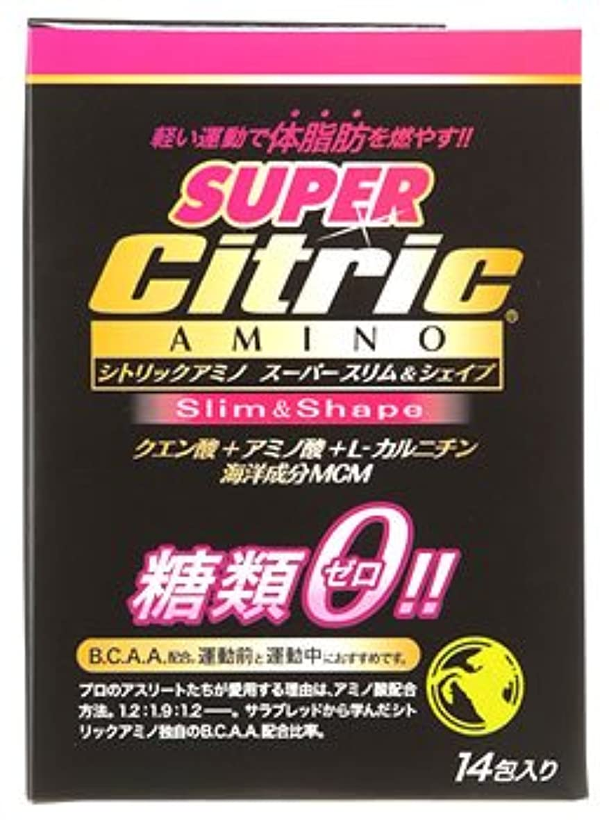 抵抗力がある手首月曜メダリスト?ジャパン シトリックアミノ スーパースリム&シェイプ JP (6g×14包入) クエン酸 アミノ酸 糖類ゼロ