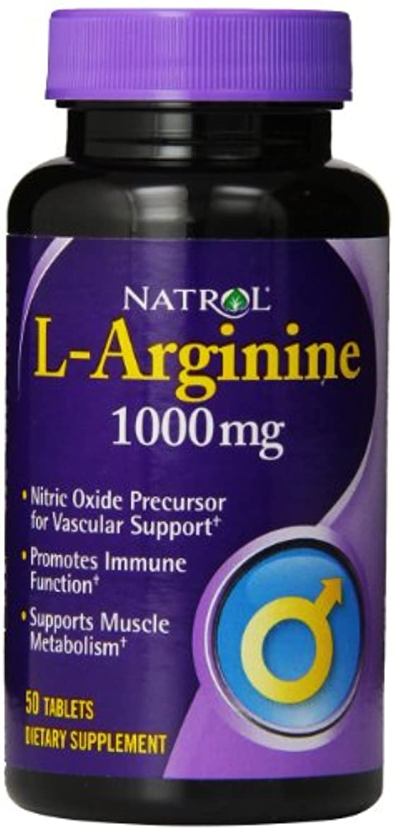 化学日の出二十Natrol - L-アルギニン 1000 mg 50錠剤