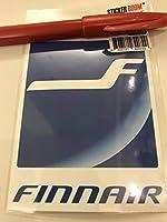 フィンエアー、カンタス豪、スイス航空、パンナムステッカー