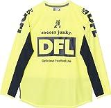 (サッカージャンキー)soccer junky サッカー ウェア  ロングプラシャツ スピード+4 SJ15715 78 蛍光イエロー M