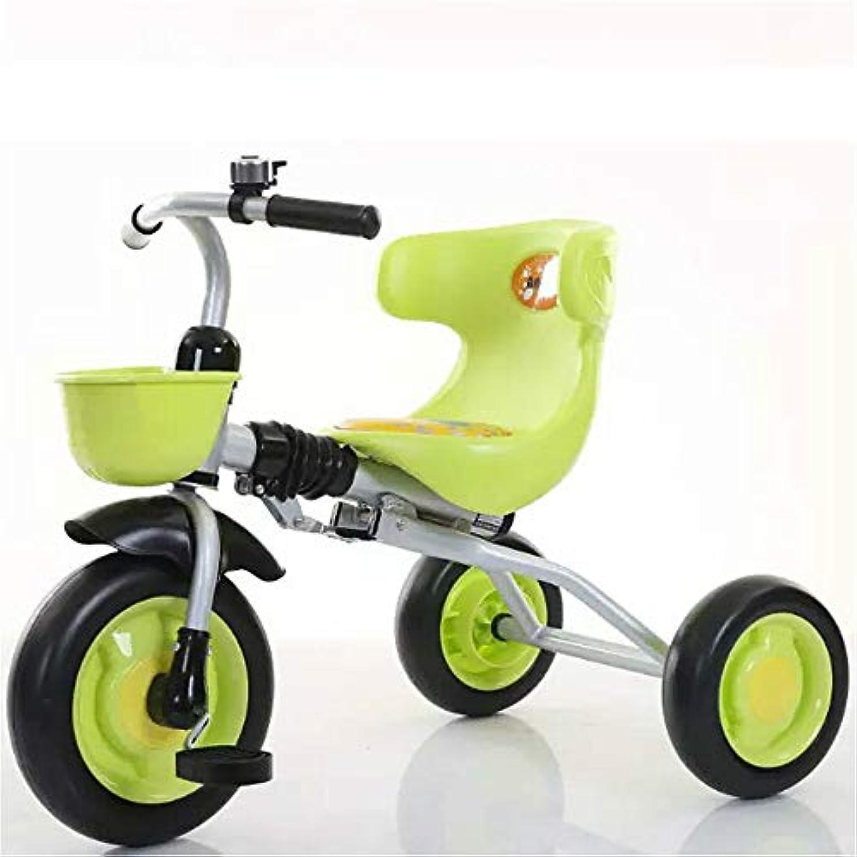 普及輝度死にかけている折りたたみ式の子供用三輪自転車は組み立てが簡単で、携帯用の男の子と女の子用の三輪自転車、多機能U字型大型背もたれサイレントスクーター