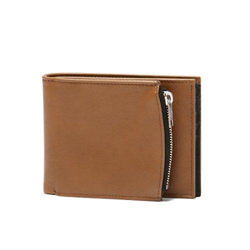 (マルタン マルジェラ) MARTIN MARGIELA ライン11 二つ折り財布 ブラウン S55UI0182 PR516 963 [並行輸入品]