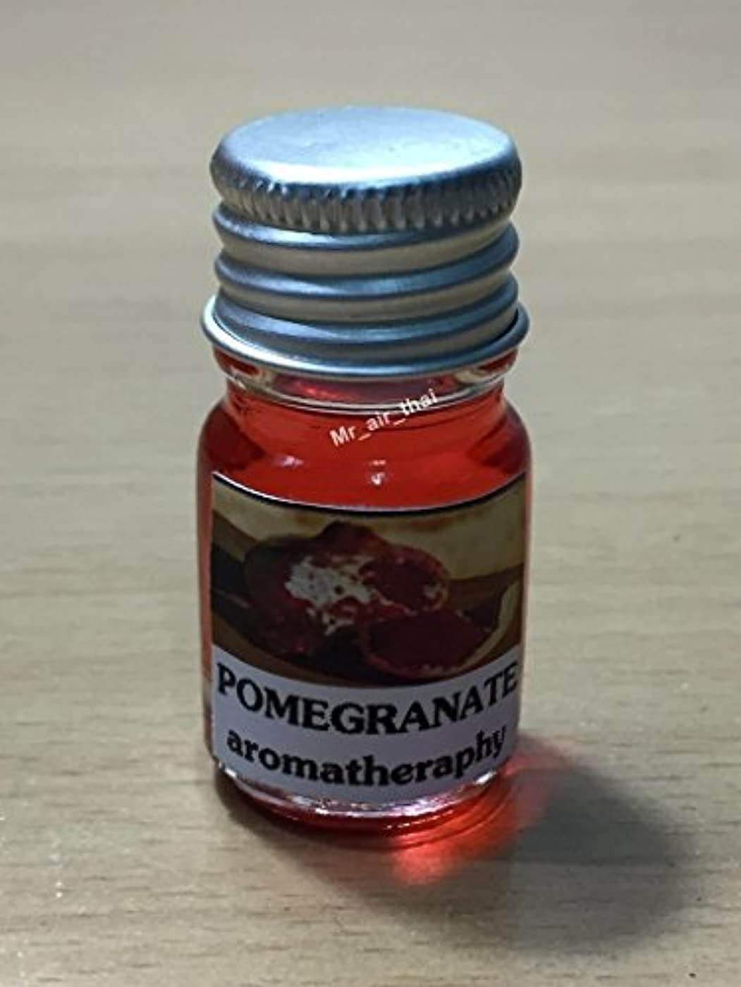 高尚な若さ先入観5ミリリットルアロマザクロフランクインセンスエッセンシャルオイルボトルアロマテラピーオイル自然自然5ml Aroma Pomegranate Frankincense Essential Oil Bottles Aromatherapy...