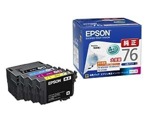 EPSON 純正インクカートリッジ IC4CL76 大容量