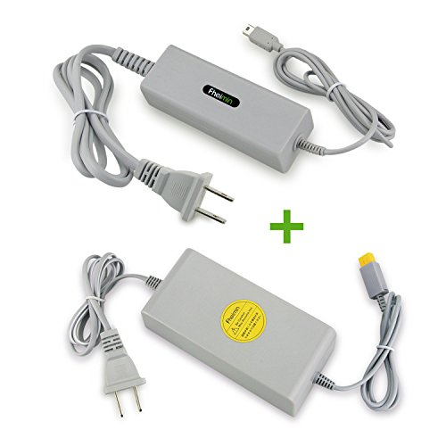 Wii U 本体専用 ACアダプター+Wii U 専用 GamePad ゲームパッド 充電 ACアダ...