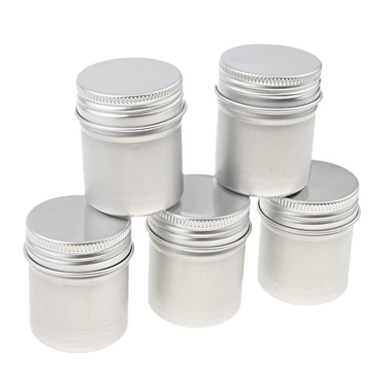 考える期待長老50g / 1.8Oz。アルミパウダー、お茶、ワックス、クリーム色の容器の瓶ふた付き - 5個入り
