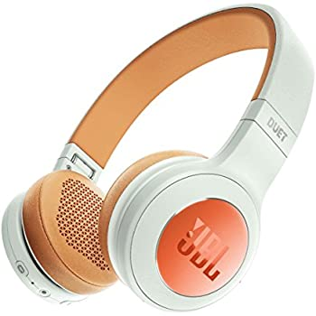 JBL DUET BT Bluetoothヘッドホン 密閉型/オンイヤー ホワイト JBLDUETBTSIL 【国内正規品】
