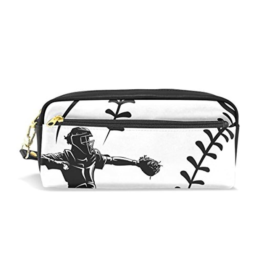スペクトラムアクティビティ力AOMOKI ペンケース 化粧ポーチ 小物入り 多機能 レディース 野球