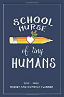 School Nurse Of Tiny Human: My Prayer Journal, My Prayer Journal Is A Guide To Prayer| 2019-2020 Weekly And Monthly Planner| A 3 Months Guide To Prayer, Diary, Notebook For Teacher Gift. 6 x 9 inch 110 pages with Awesome Interior.