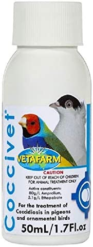 Vetafarm Coccivet Liquid Coccidiosis Treatment, 50 ml