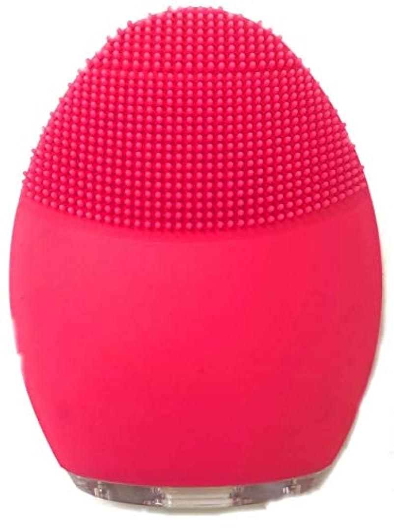 スペア規制エレガントシリコン洗顔音波クレンジング 電動洗顔ブラシ 音波洗顔毛穴ケア