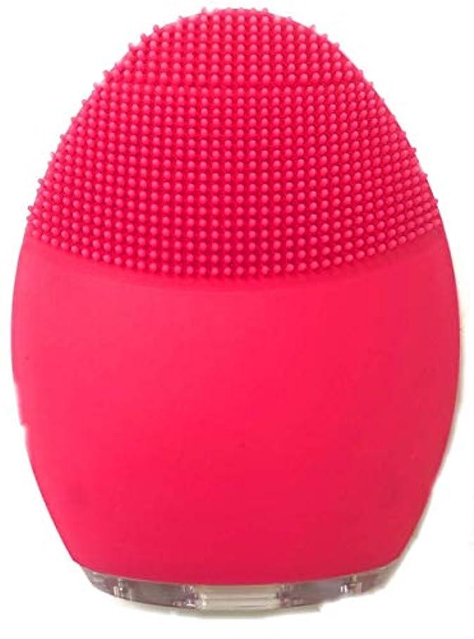 ポーク破壊相互接続シリコン洗顔音波クレンジング 電動洗顔ブラシ 音波洗顔毛穴ケア