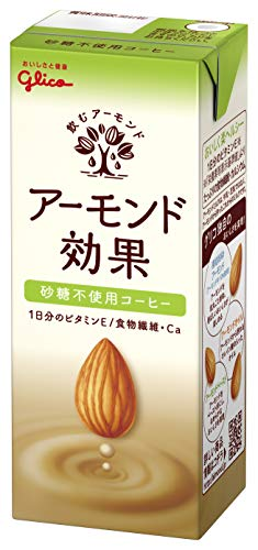 アーモンド効果 砂糖不使用 まろやかコーヒー 200g×24