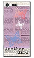 SECOND SKIN Hal Ikeda 「Another Girl パープル」 / for Xperia XZ Premium SO-04J/docomo DSO04J-PCCL-207-Y787