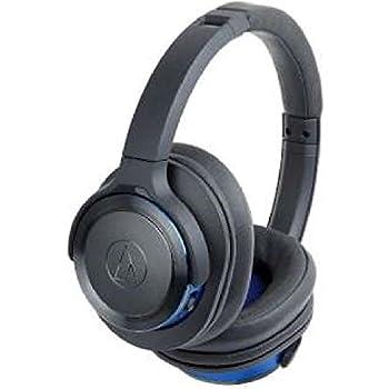 オーディオテクニカ Bluetooth対応ワイヤレスヘッドホン(ガンメタリックブルー)audio-technica ATH-WS660BT GBL