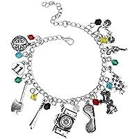Stranger Things Bracelet with Lucky Charms in Velvet Gift Pouch