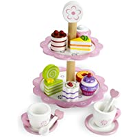 Wood Eats! Tea Time Pastry Tower by Imagination Generation by Imagination Generation