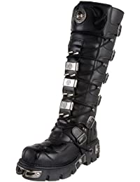 New Rock - Black Extreme Goth High Boots
