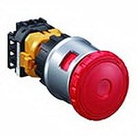IDEC(アイデック) 非常停止用押ボタンスイッチ XNシリーズ φ30 非照光式 大形ボタン 3b ねじ端子形 感電防止カバー付 ブライト系赤 パドロック対応タイプXN4E-BL403MRH