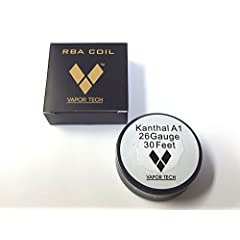 Kanthal A1 Wire カンタルワイヤー 30feet RBAコイル用 (26AWG:0.40mm)