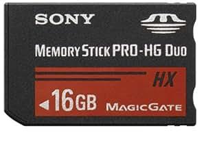SONY メモリースティック PRO-HG デュオ HX 16GB USBアダプタ付 MS-HX16G