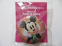 Disney Store ディズニーストア 1999年限定 ミッキーマウス 缶バッジ