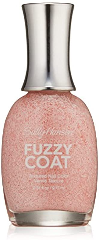曲げる多様体博覧会SALLY HANSEN FUZZY COAT TEXTURED NAIL COLOR #100 WOOL LITE