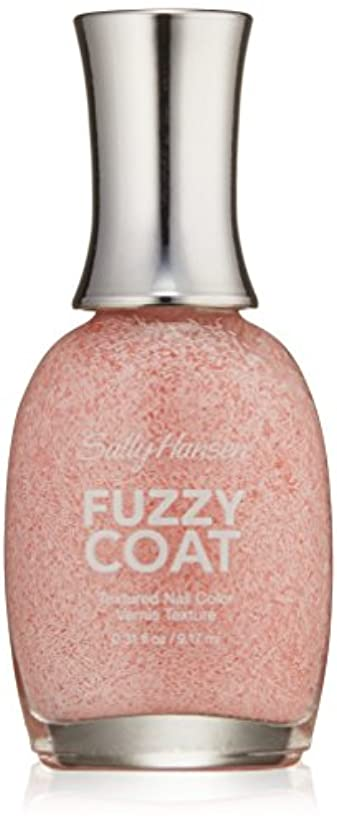 上ノーブル隔離SALLY HANSEN FUZZY COAT TEXTURED NAIL COLOR #100 WOOL LITE