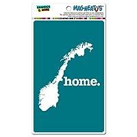 ノルウェー本国 MAG-NEATO'S(TM) ビニールマグネット - ソリッドターコイズ