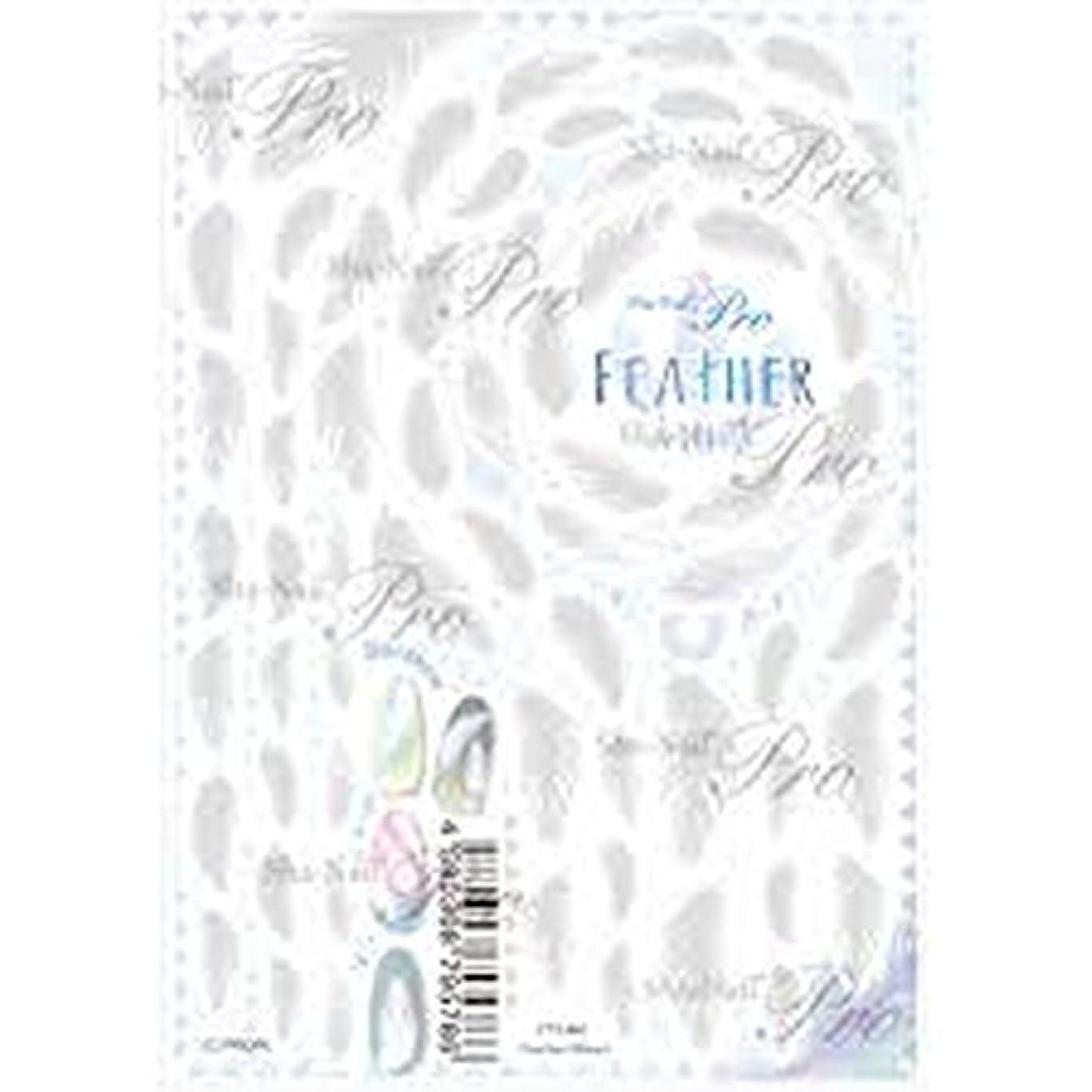 護衛演劇アフリカ人Feather(Blanc)