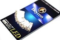 《Beyron Premium》 ベイロンLED 【T5拡散 3連 12V】×10個(長寿命 50,000時間 車検対応)《108》