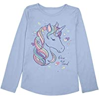 Jumping Beans Girls 4-12 Kind Unicorn Graphic Tee