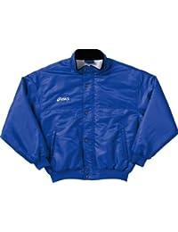 アシックス ウォーマージャケット OWW702 ブルー S