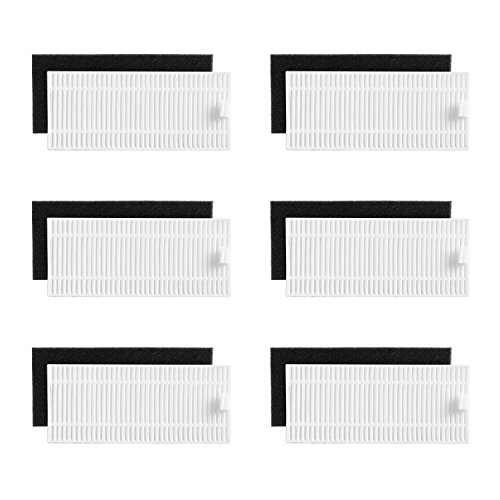 Eufy RoboVac 11S / 15C / 30C 交換用フィルターセット
