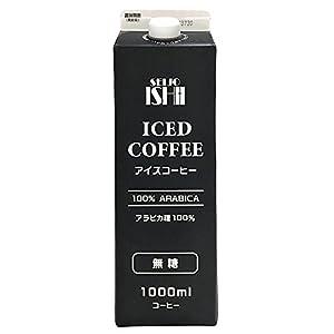 成城石井 アイスコーヒー 無糖 1000ml×12本