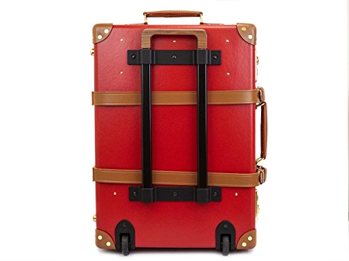 GLOBE TROTTER グローブトロッター Red/tan センテナリー 21インチ [並行輸入品]